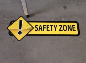 Custom safety floor graphics
