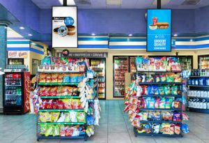 Digital Convenience Store Signage