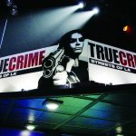 True Crime Hanging Display Banner