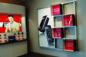 custom lightbox retail display